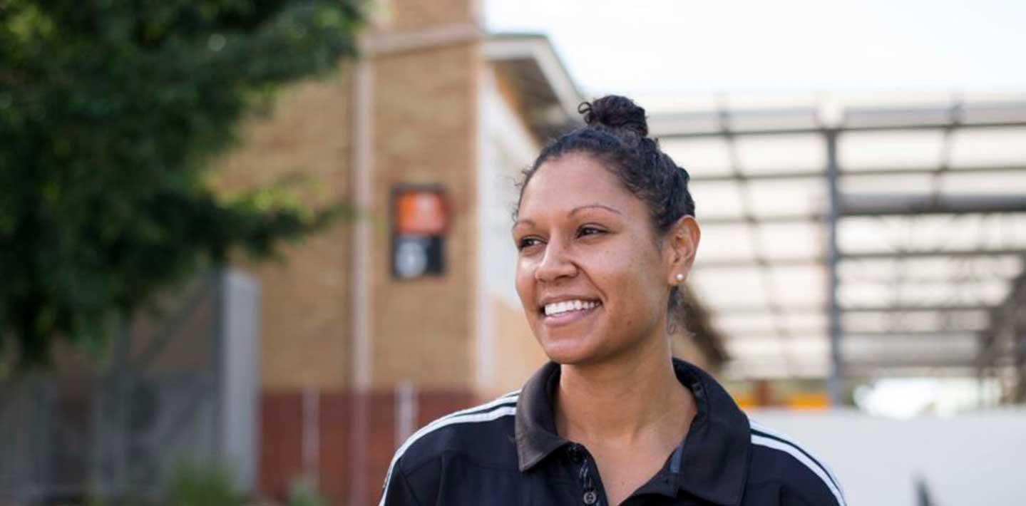 Josie Janz, a Deadly Sista Girlz mentor