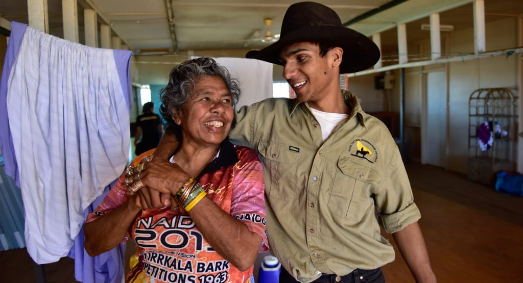 The Mona Horsemanship Program has helped kids in the Mt Isa community. © Wayne Quilliam