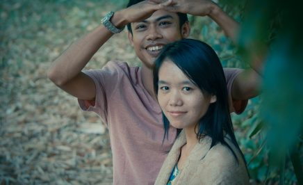 Phyoe Phyoe Aung and her partner Lin Htet Naing