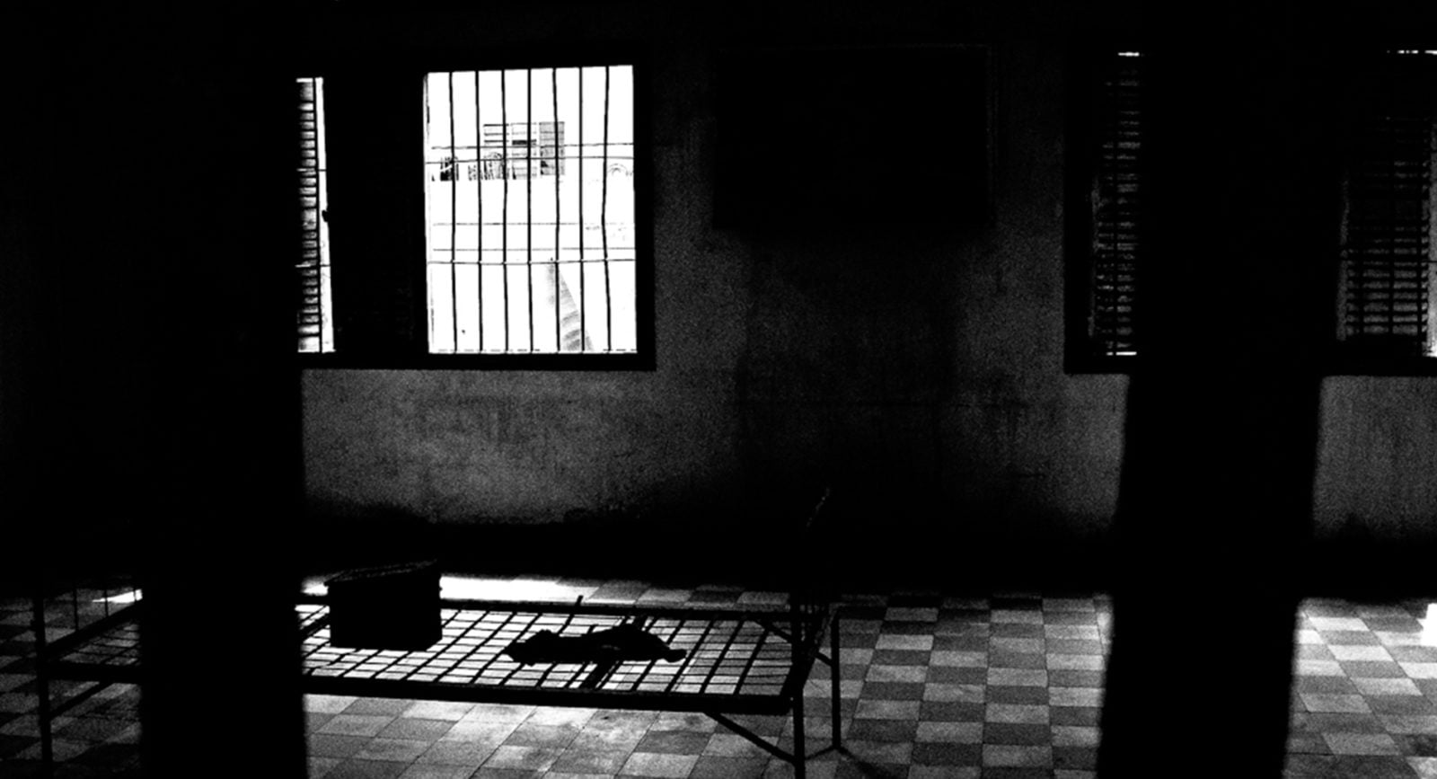 A torture prison on the outskirts of Phnom Penh, Cambodia.