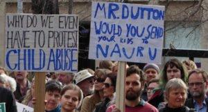 Hobart #BringThemHere refugee rally. copy; Zainab Clark