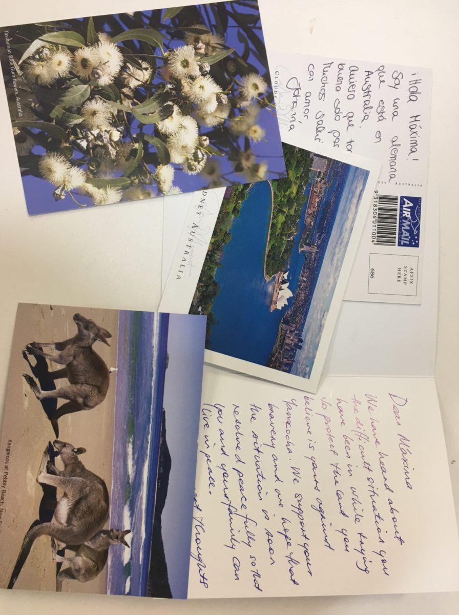 Letters written for W4R Sydney