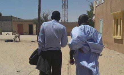 Mauritania anti-slavery activists. © AI