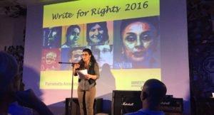Write for Rights in Parramatta, NSW. © Private
