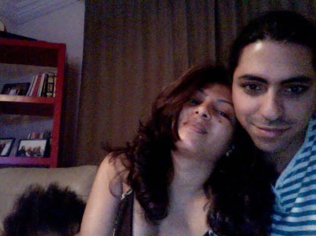 Ensaf Haidar and Raif Badawi