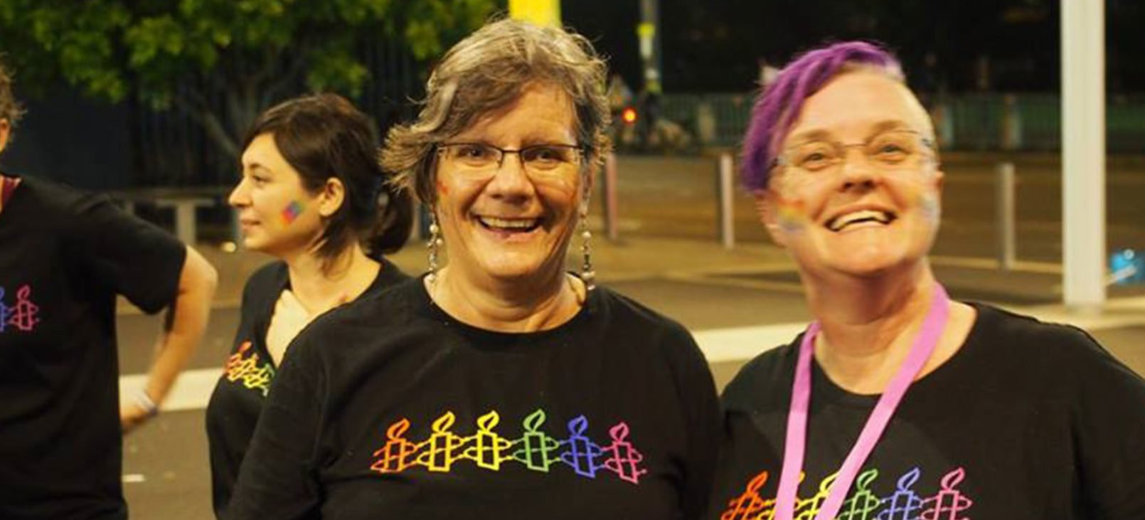 NSW LGBTQI Network at the 2017 Mardi Gras Parade. © Cosmo Price