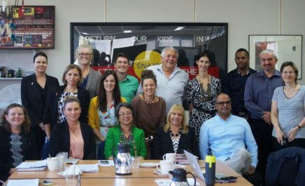 SNAICC's roundtable on the rights of Indigenous children in Melbourne, March 2017, attended by Amnesty's Rodney Dillon and Julian Cleary. © SNAICC 2017