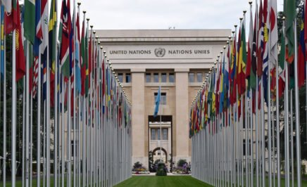 The United Nations headquarters in Geneva. © iStock/MarkB1985