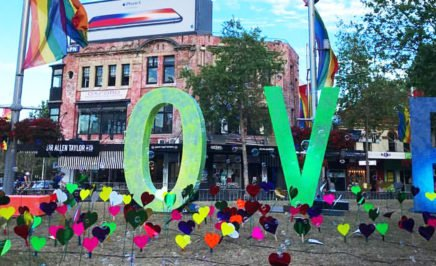 Solidarity event 'Love in Taylor Square'. © AI