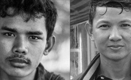 Hun Vannak and Doem Kundy. © Front Line Defenders